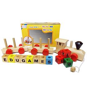 TàuHỏaChởChữVàSố EDUGAMES - GA636