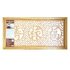 Tấm Chống Ám Khói Hương Mộc Linh Size L TCAKLV (41 x 81 cm) - Vàng