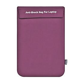 Túi Chống Sốc Laptop Ronal TCS02 New - Tím