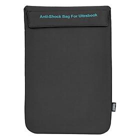 Túi Chống Sốc Ultrabook Ronal TCS03 - Đen Chỉ Xanh