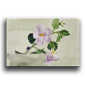 Tranh Canvas Vicdecor TCV0006 Hoa Nghệ Thuật