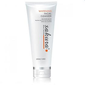 Sữa Rửa Mặt Trắng Da Sakura Whitening Facial Cleanser (100ml)