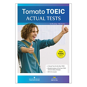 Tomato Toeic Actual Tests (Kèm  CD)