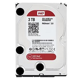 Ổ Cứng HDD NAS WD Red™ 3TB/64MB/5400/3.5 - WD30EFRX - Hàng chính hãng