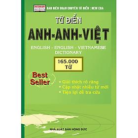 Từ Điển Anh - Anh - Việt 165.000 Từ (Nhỏ) - Tái Bản