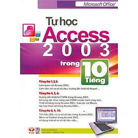 Tự Học Access 2003 Trong 10 Tiếng