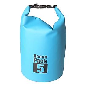 Túi Chống Nước POPO OceanPack-5L-Blue (5L) - Xanh Dương