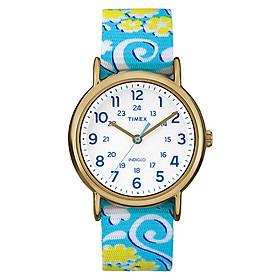 Đồng Hồ Nữ Dây Vải Timex Weekender Reversible Floral TW2P90100