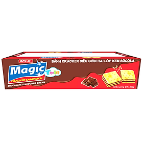 Bánh Quy Magic Twin Butter Hương Chocolate (15g x 20)