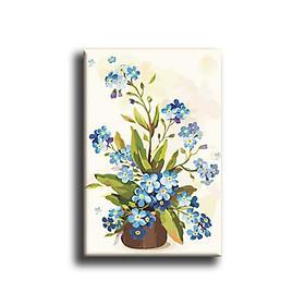 Tranh Canvas Vicdecor TCV0023 Hoa Nghệ Thuật 4