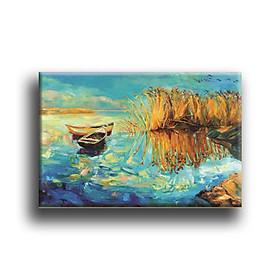 Tranh Canvas Vicdecor TCV0037 Thuyền Tranh Nghệ Thuật 1