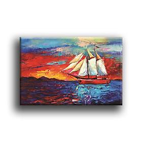 Tranh Canvas Vicdecor TCV0045 Sắc Màu Của Biển