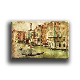 Tranh Canvas Vicdecor TCV0046 Vẻ Đẹp Venice 3