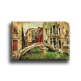 Tranh Canvas Vicdecor TCV0047 Vẻ Đẹp Venice 4