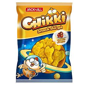 Snack Chikki Đùi Gà Vị Gà Chiên Sốt Buffalo Gói 38g