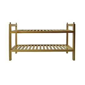 Kệ Giày Gỗ 2 Tầng Modulo Home MDL-002-N (70 x 40 cm)