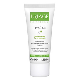 Kem Trị Mụn Đầu Đen Uriage Hyséac K18 (40ml)