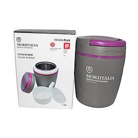 Hộp Cơm Giữ Nhiệt Moriitalia VA120S - 1.2L - Purple