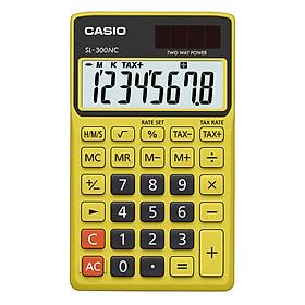 Máy Tính Để Bàn Casio SL-300NC - Vàng