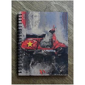 Hình đại diện sản phẩm Sổ Tay Xe Cổ - Vespa Việt Nam