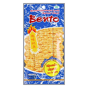 Snack Mực Tẩm Gia Vị Cay Bento (24g)
