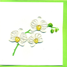 Thiệp Giấy Xoắn Việt Net - Flower 15x15 VN2XM1150FRNN