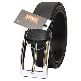 Thắt Lưng Nam Da Thật Cao Cấp Da Giày Việt Nam VNLTL2TK19D - Đen