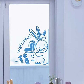 Decal Dán Tường NineWall Welcome BA003