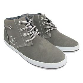 Giày Sneaker Cổ Cao Bé Trai D&A B1502 – Ghi