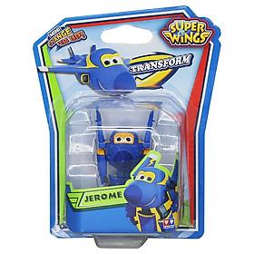 Máy Bay Biến Hình Robot Mini Super Wings YW710030 - Jerome Cuồng Phong