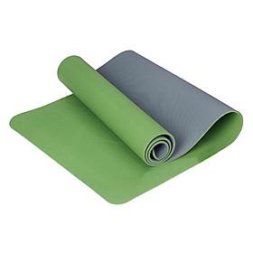 Thảm Yoga 2 Lớp Cao Cấp Sportslink TPE Zera Mat ZERA-6MM-2L-XANHLA - Xanh Lá (6mm)