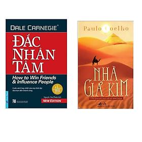 Combo sách bán chạy : Đắc nhân tâm + Nhà giả kim - Tặng kèm bookmark thiết kế