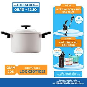Nồi Decor Lock&Lock LDE1182IH (18cm) - Màu Kem