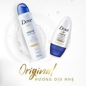 Xịt Khử Mùi Dove Light & Smooth 150ml - 67131610