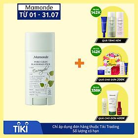 Thanh Sáp Làm Sạch Mụn Đầu Đen Và Ngăn Ngừa Mụn, Thu Nhỏ Lỗ Chân Lông Mamonde Pore Clean Stick (18g) 110651351