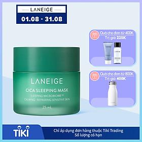Mặt Nạ Ngủ Phục Hồi Và Nuôi Dưỡng Da Phiên Bản Cải Tiến LANEIGE Cica Sleeping Mask EX 25ml