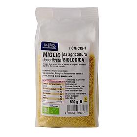 Hạt kê hữu cơ đã bóc vỏ Sottolestelle 500g Organic Millet