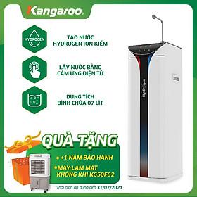 Máy lọc nước Kangaroo Hydrogen Slim nóng lạnh KG10A6S - hàng chính hãng