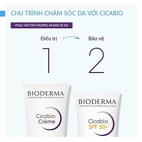 Kem Dưỡng Phục Hồi Da Tổn Thương Bioderma Cicabio Crème - 40ml
