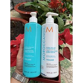 Bộ dầu gội xả tăng phồng tóc Moroccanoil Extra Volume shampoo Conditioner 500ml - Hàng chính hãng