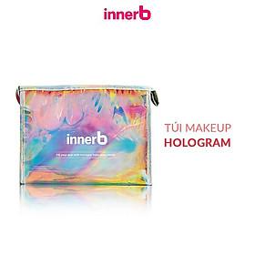 Combo 2 Hộp 6 chai nước uống Collagen Vitamin C sáng da InnerB Glowshot (50mlx6) tặng túi makeup hologram