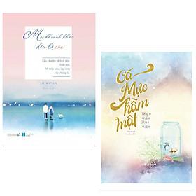 Combo 2 cuốn sách tiểu thuyết lãng mạn : Mọi Khoảnh Khắc Đều Là Em + Cá Mực Hầm Mật (Tặng kèm Bookmark Happy Life)