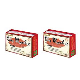 Hình đại diện sản phẩm Combo 2 hộp Tâm mạch 2 Công Đức hỗ trợ bổ huyết, hoạt huyết
