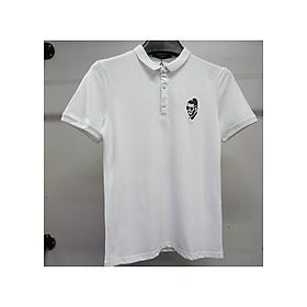 Áo phông, áo thun Polo Nam có cổ, tay ngắn, họa tiết thêu trước ngực mang phong cách Hàn Quốc cá tính, chất liệu vải Cotton cao cấp, mềm mịn, co giãn, hợp xu hướng thời trang - Mẫu HOT