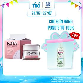 Kem Sữa Dưỡng Trắng Nâng Tông Pond'S White Beauty (50g)