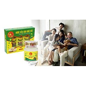 COMBO 7 hộp nước yến sào đường phèn Nhà Việt (42 hủ x 70ml) tặng thêm 6 lon nước yến