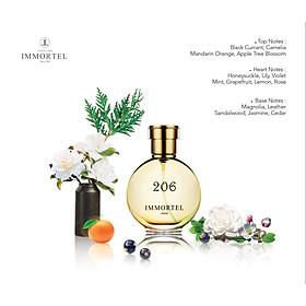 Nước Hoa Nữ IMMORTEL PARIS 206 Eau De Parfum Dung tích 60ml -Quyến rũ và đầy cuốn hút -0733