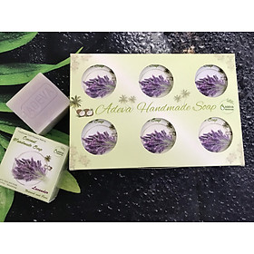 Xà phòng handmade Oải hương - Set 6 soap - Adeva Naturals