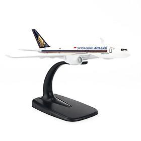 MÔ HÌNH MÁY BAY A350 SINGAPORE AIRWAYS EVERFLY 16CM