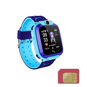Đồng hồ thông minh định vi lbs chính xác dành cho trẻ em tặng sim 4G viettel một ngày có 4G DATA